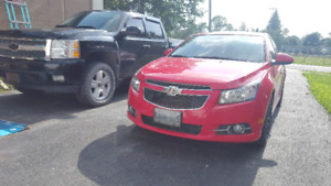 Chevy Cruze RS LTZ Turbo