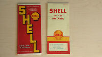 Oil and Gas Collector's pieces! - 1940'S&50'S Shell Maps