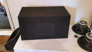 Sub box for sale need gone!!