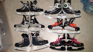Various youth skates