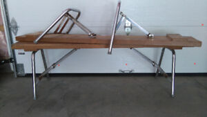 exercise weight wooden bench/banc en bois solide pour poids