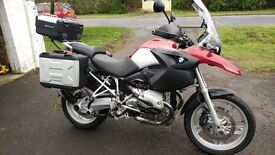 2005 BMW R1200 GS 15k full main dealer service history.