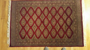 India rug - hand-made, hand-knotted, wool - excellent condition