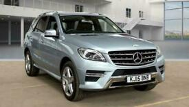 image for 2015 15 MERCEDES-BENZ M-CLASS 3.0 ML350 BLUETEC AMG LINE 5D 255 BHP 4X4 AWD 4WD