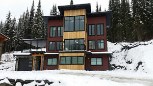 New house in Sun Peaks for short term stays