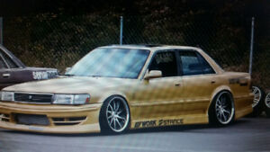 Serial Nine Type One body kit Toyota Cressida