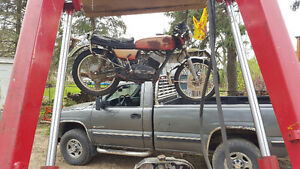 RD 350 1972? Good for parts no ownership