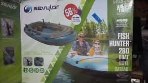 Sevylor Fish Hunter 280 and motor mount