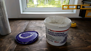 Dust control drywall compound