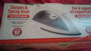 Iron for $10 need gone asap new and never used