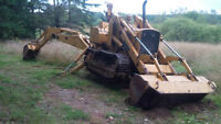 350 DIESEL Crawler Dozer with Backhoe