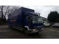 DAF 55 ATI 13 TON GROSS BOX STEEL SUSPENSION GOOD CONDITION
