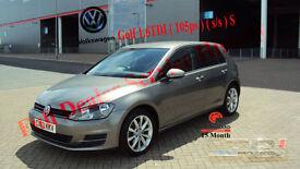 2013 VOLKSWAGEN GOLF 1.6TDI 105ps CHEAP GREY DIESEL CAR