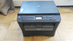 Brother DCP-7060P printer with two new toners