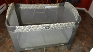 Playpen- Small repair to material on side -please see pics. $35