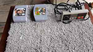 Nintendo games and controllers