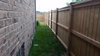 Windsor Privacy Fence $32 per foot for 6ft fences and 5x5 posts