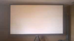 Custom projector screen