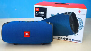 JBL Xtreme Portable Wireless Bluetooth Speaker( Blue) NEW