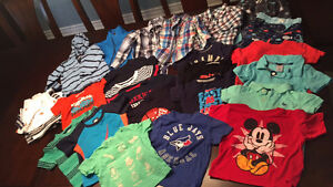 24 boys summer clothes ranging from 18-24mth,2T $2.5/item
