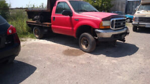 2000 FORD F350  WITHDUMP INSERT AND SALTER