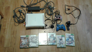 Xbox 360 with accessories for sale
