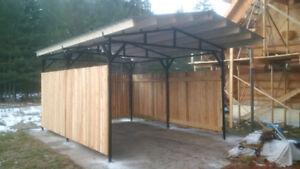 MS Steel Design Steel Shelters and Carports