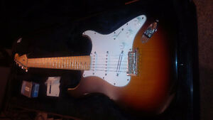 FENDER STRAT AMERICAN STANDARD WITH MODS