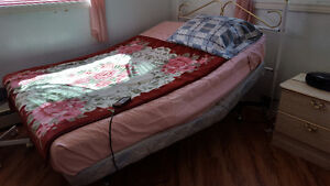 Craftmatic Adjustable Bed. Double size.