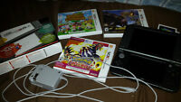 Nintendo 3DS + 3 Games + Charge Cable (Price Updated)