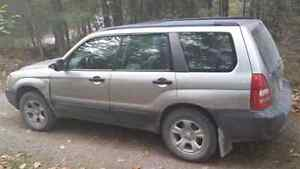 2005 Subaru Forester for sale AS IS Peterborough Peterborough Area image 4