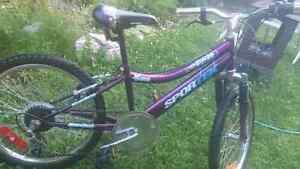 Vélo fillette a vendre