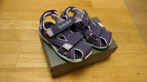 Brand new Timberland girl sandals, size 10