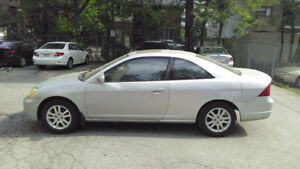 2002 Honda Civic Coupe Si 1.7L Manual With Winter Tires