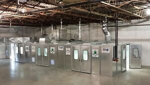 Spray Paint Booth's & Air Make Up Units