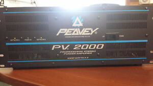 Peavey PV 2000 Professional Stereo Power Amp