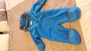 Columbia fleece snow suit 3-6 month