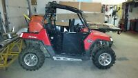 """2008 RZR 800 & 2009 M8 twisted turbo 174x3"""" Package deal"""