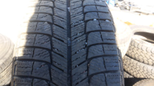 225 55 17 michelin x ice tires over 1/2 tread 250 for all 4