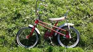 Bicyclette anctient vintage