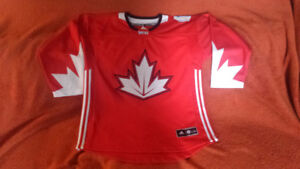 Team Canada 2016 World Cup jersey