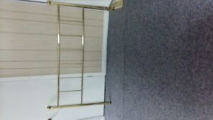 for sale queen bed golden metal frame great condition