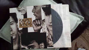 SIMPLE MINDS ONCE UPON A TIME VINYL ! ORIG PRESS MINTY !