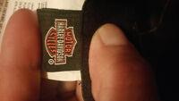 Found harley davidson cap with sturgis pin