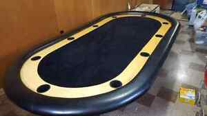 10 seat full size poker table