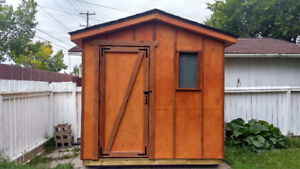 8ft x 5ft New Shed for sale (wood construction)