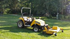 Bombardier MPV 20 HP 3 Cylinder Diesel with Front Mounted Mower