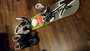 Complete snowboard package 220 OBO