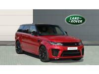 2018 Land Rover Range Rover Sport 5.0 V8 S/C 575 SVR 5dr Auto Petrol Estate Esta