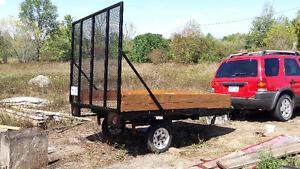 8 x 5.5 utility trailer Kingston Kingston Area image 2